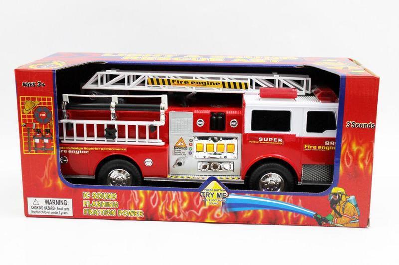Пожарная машина свет/звук. батар. 6688-29
