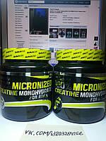 Biotech 100% Creatine Monohydrate 500г, фото 1