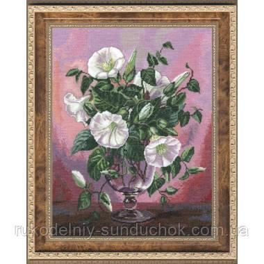 """Набор для вышивания крестом ТМ Золотое Руно """"Вьюнок.Любимые цветы """" ЛЦ-036"""