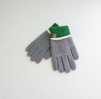 Детские шерстяные перчатки для мальчиков