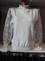 Футболка женская длинный рукав / осень купить женскую футболку дешево оптом со склада 7 км, ER 1940 FJ-0001