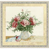 """Набор для вышивания крестом ТМ Золотое Руно """"Розы и ягоды. Любимые цветы """" ЛЦ-047"""