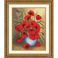 """Набор для вышивания крестом ТМ Золотое Руно """"Букет на счастье. Любимые цветы """" ЛЦ-049"""