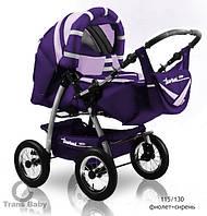 Коляска-трансформер Trans Baby Taurus т.фиолетовый+сирень