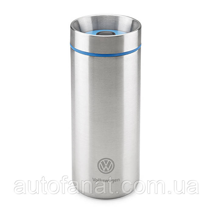 Оригинальная термокружка Volkswagen Thermo Mug, Silver/Blue (33D069604)