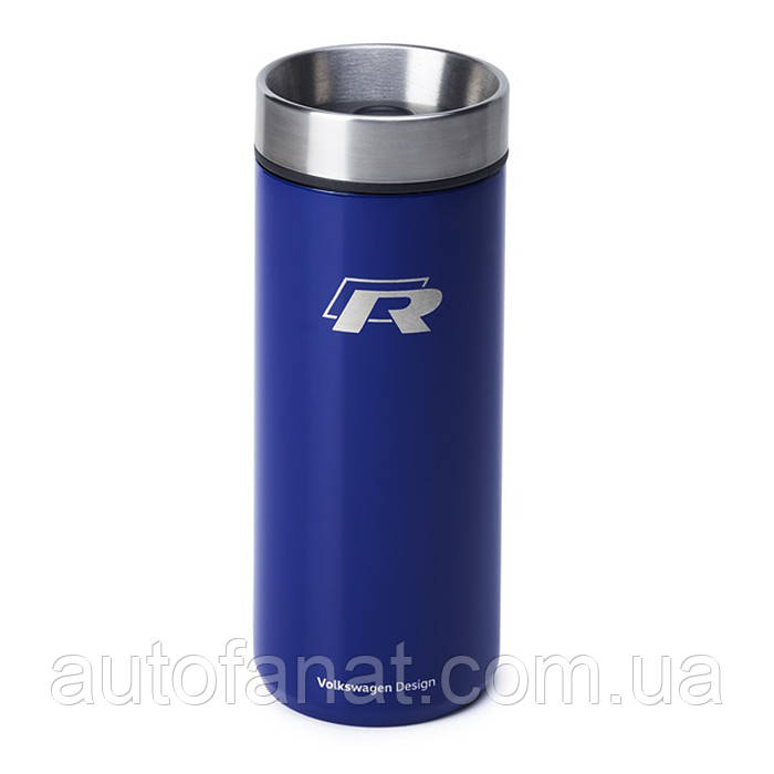 Термокружка Volkswagen R Collection Thermo Mug, Blue, артикул 15D069604