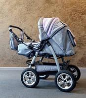 Коляска-трансформер Trans Baby Taurus с.серый+сирень