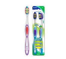 GUM Supreme Max Toothbrush Full Medium, Value Pack Зубная щетка