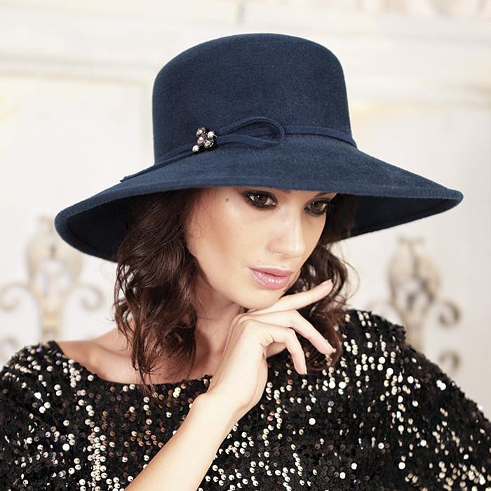 313-4 Женская фетровая шляпа Хелен Лайн