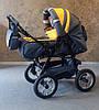 Коляска-трансформер Trans Baby Taurus т.серый+банановый
