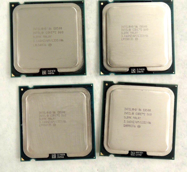 Intel Core 2 Duo E8500 6m 300ghz Prosesor
