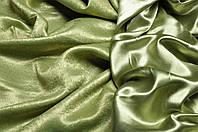 Ткань для штор блэкаут СОФТ (двухсторонняя) светлозеленый