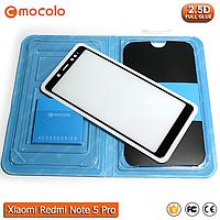 Захисне скло Mocolo Xiaomi Redmi Note Pro 5 (Black) - Full Glue, фото 1