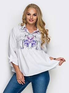 Блузки, сорочки баталов