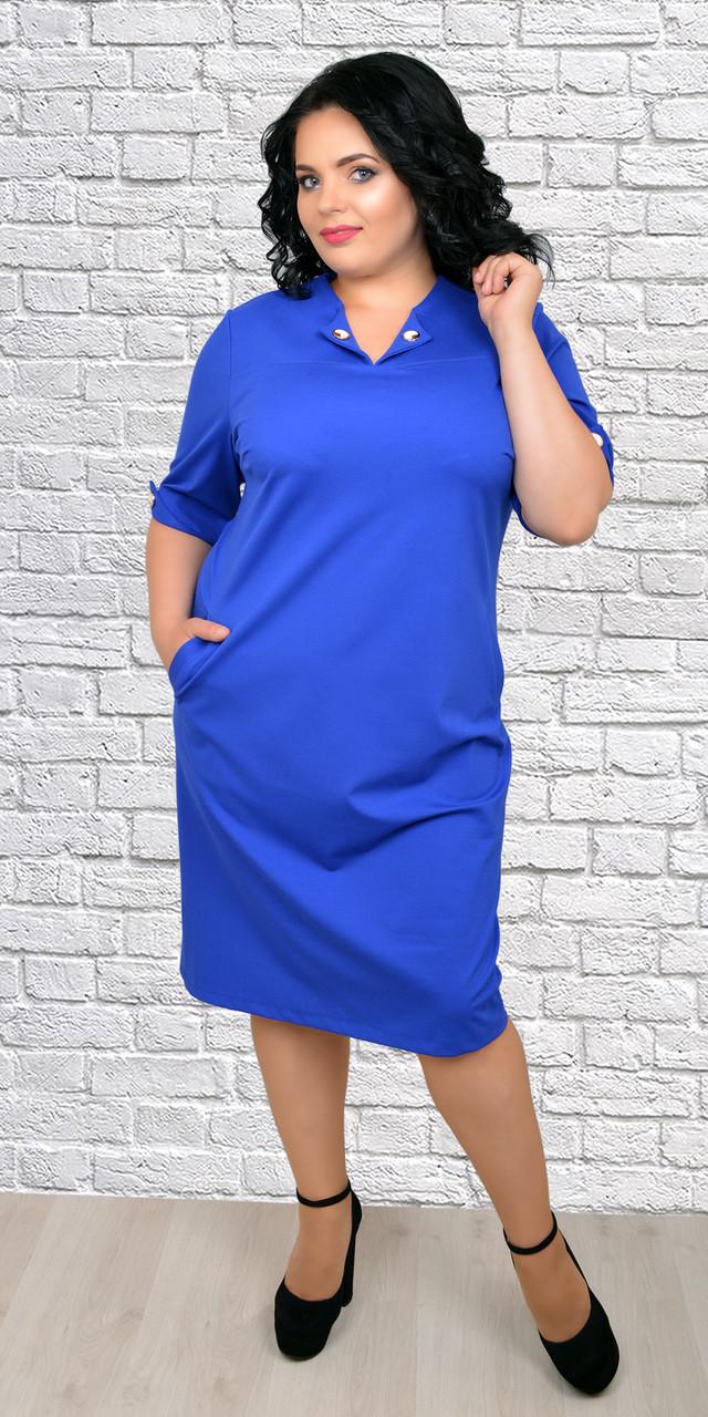 84e025eb9fd Платье для полных новинка стильное
