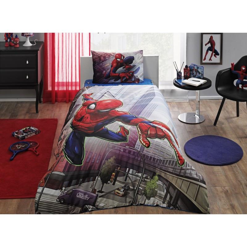Постельное белье Tac Disney - Spiderman Action подростковое