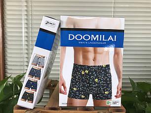 Мужские боксеры стрейчевые из бамбука  Марка  «DOOMILAI» Арт.D-01168, фото 2