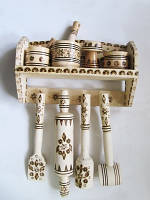 Набор На вешалке средний (Сахарницы, солонки, наборы для специй)