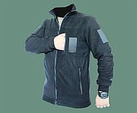 Флисовая черная куртка, кофта