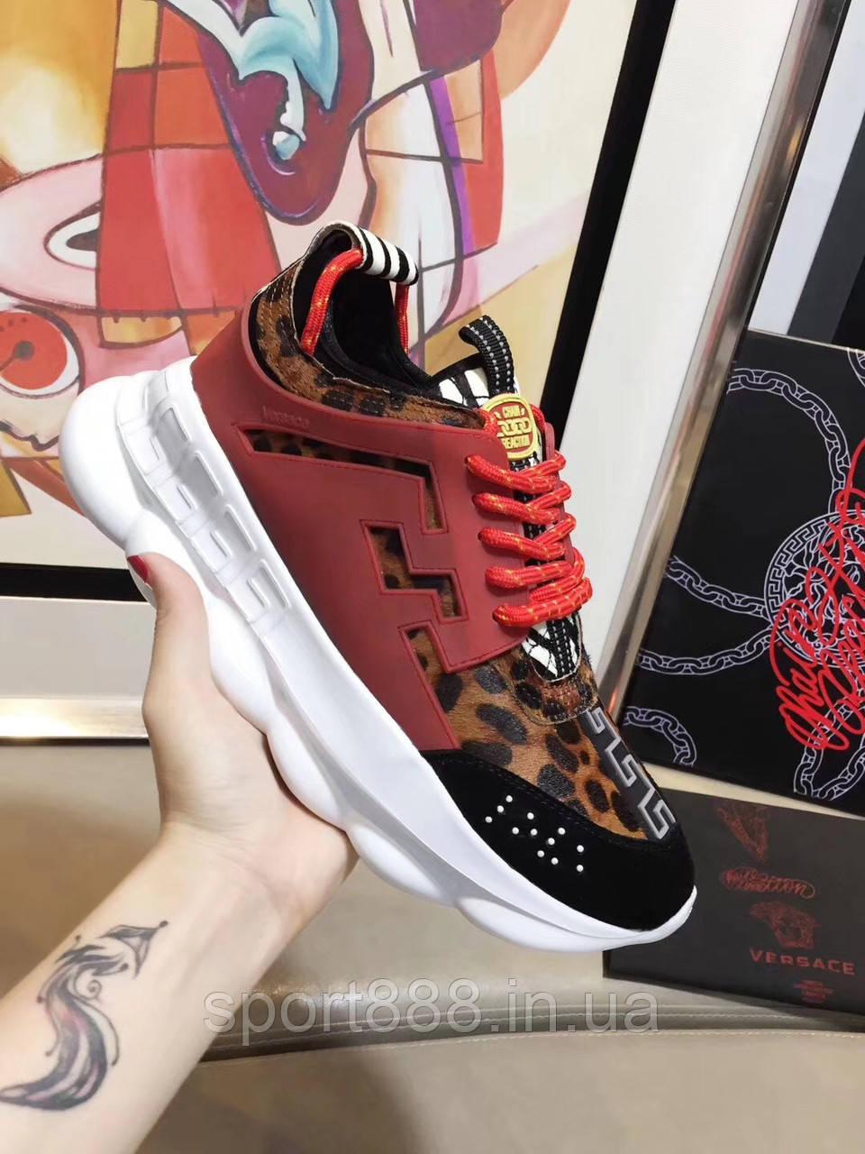 Versace Chain Reaction мужские и женские кроссовки - sport888 в Николаеве a8fe53032f8