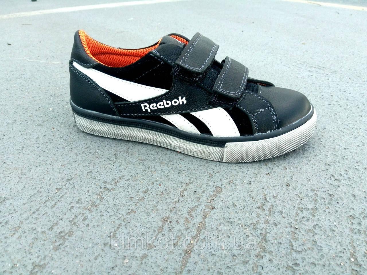 Детские кожаные кроссовки Reebok на липучках 32 - 39 р-р  продажа ... 95203758e78e0