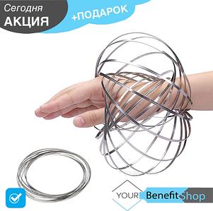 Magic Ring - кинетические кольца Toroflux / торофлакс / антистресс / кинетическая игрушка