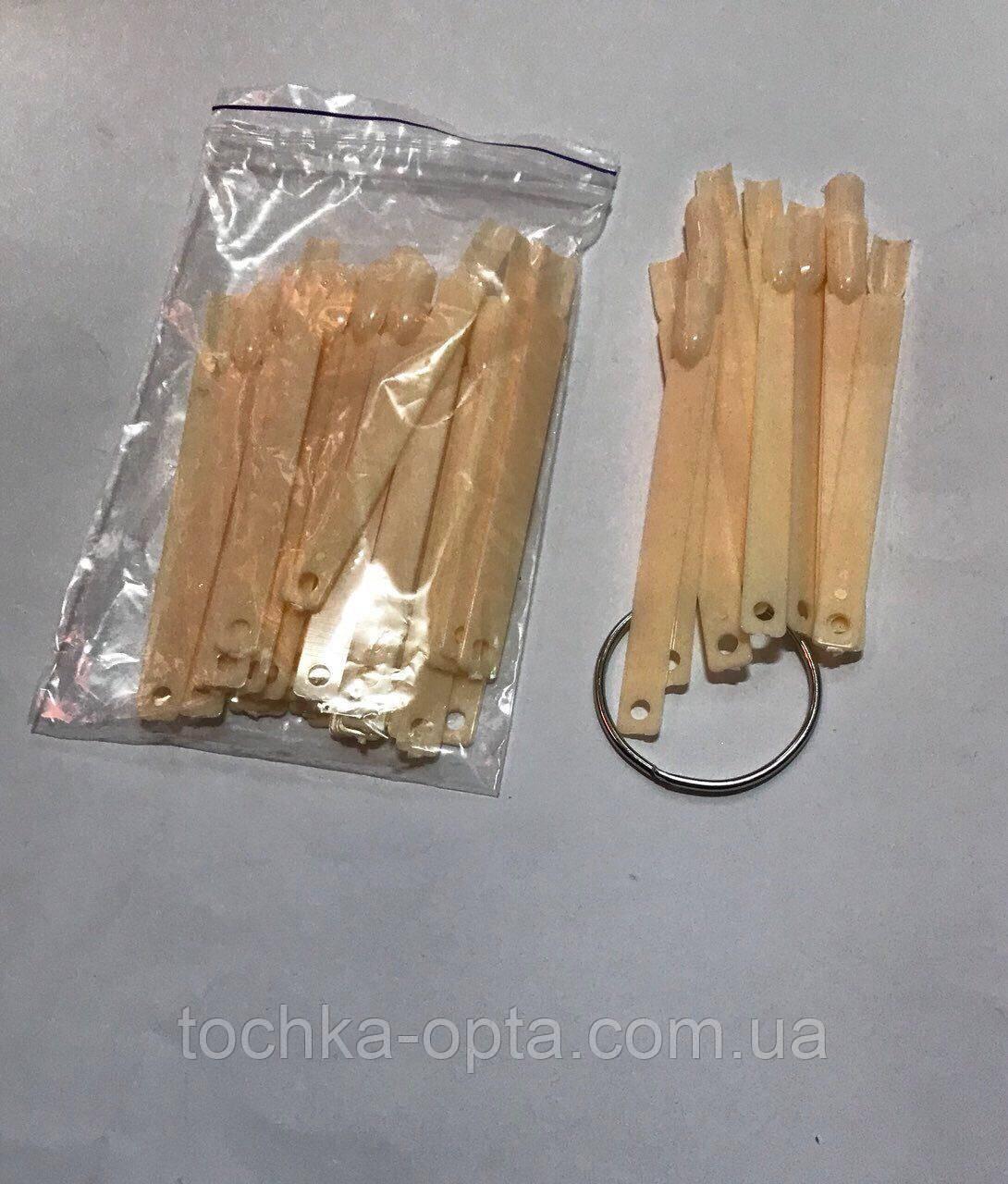 Палитра веерная телесная с кольцом(50 шт )