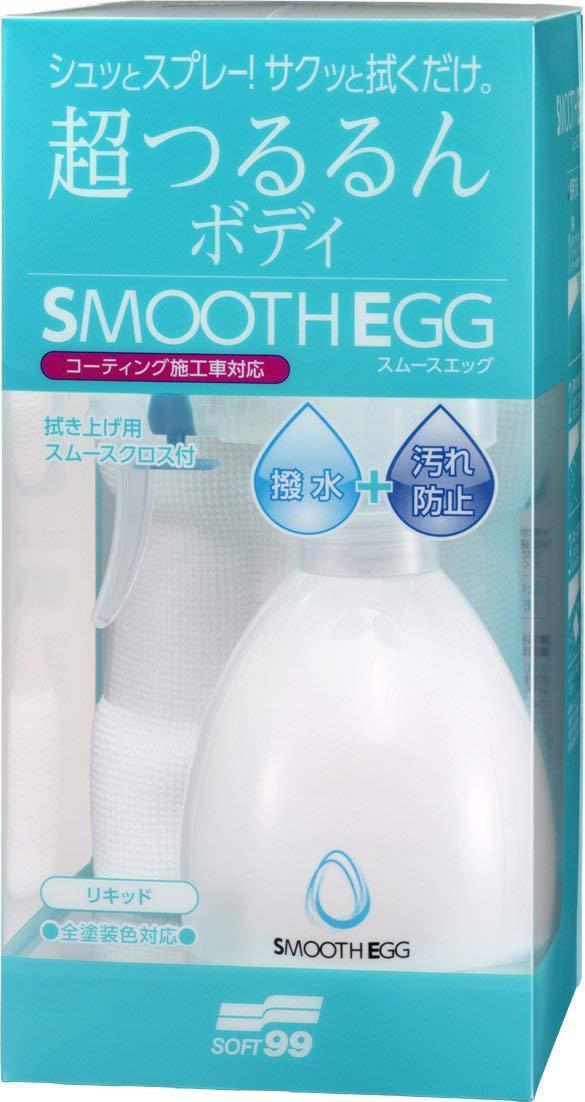 Полироль Soft99 Smooth Egg 00510
