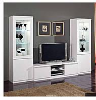 Тумба ТВ и однодверные витрины Roma Base bianco, фото 1