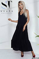 Шикарное женское платье в пол размеры S-L, фото 1