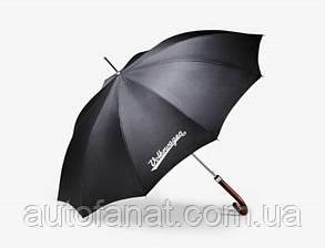 Оригинальный зонт трость Volkswagen Stick Umbrella Classic Logo, Black (311087600)