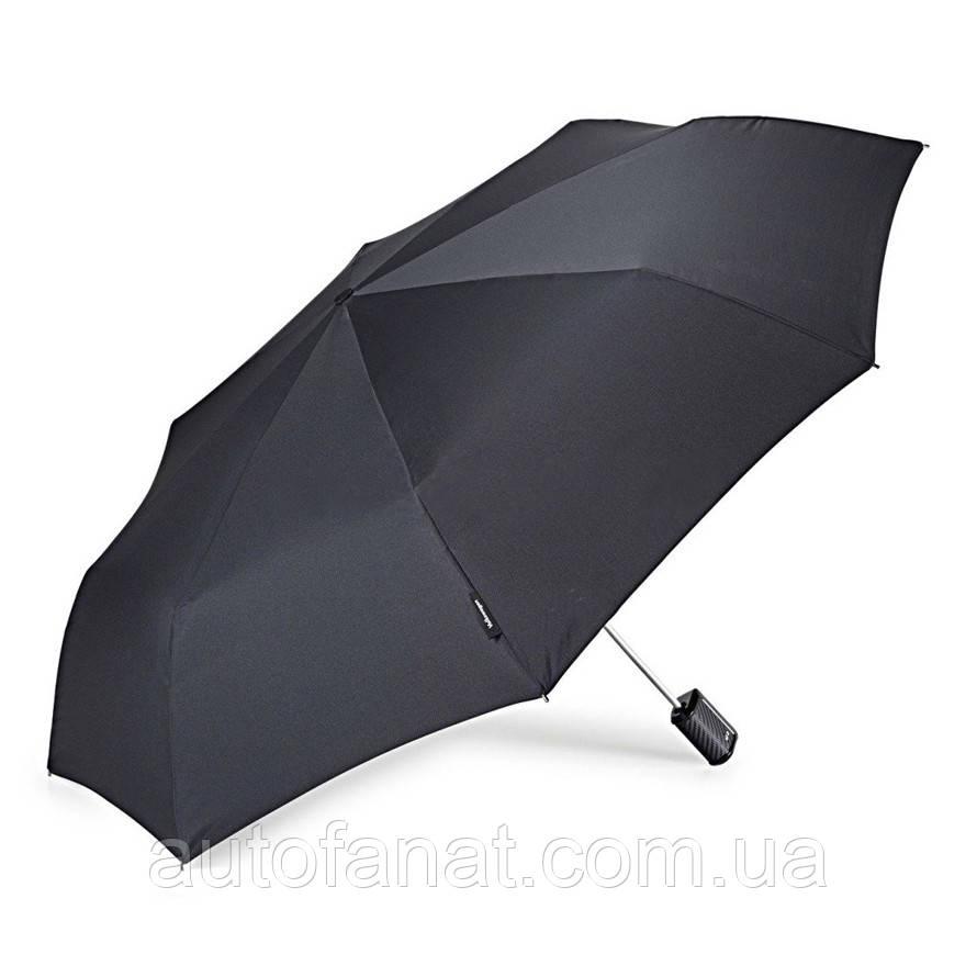 Оригінальний складаний парасолька Volkswagen R-Line Umbrella Black (1KV087602C041)