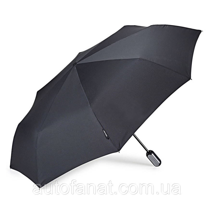 Оригинальный складной карманный зонт Volkswagen Pocket Umbrella Black (1KV087602D041)