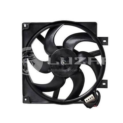 Вентилятор охлаждения радиатора ВАЗ-1118 (с кожухом), фото 2