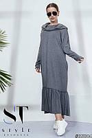 Ультрамодний плаття в стилі oversize розміри S-L, фото 2