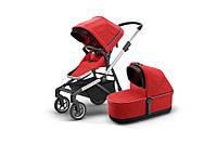 THULE - Детская коляска 2 в 1 Sleek + Bassinet Energy Red, фото 1