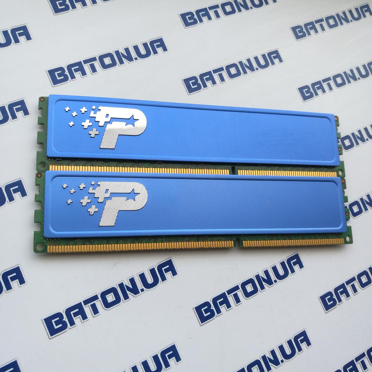 Игровая оперативная память Patriot DDR3 4Gb+4Gb 1333MHz PC3-10600U CL9 (PSD38G1333KH)