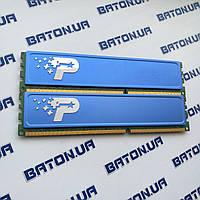 Игровая оперативная память Patriot DDR3 4Gb+4Gb 1333MHz PC3-10600U CL9 (PSD38G1333KH), фото 1
