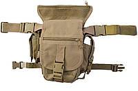 Тактическая набедренная сумка MFH 30701R Coyote, фото 1