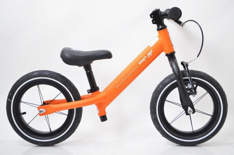 Баланс-Байк ONE Orange 12 дюймов алюминиевый облегченный