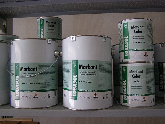 Краска на основе масло-воска Лоба Маркант цветное 2,5л