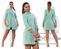 Элегантное  женское  платье с 48 по 56 размер