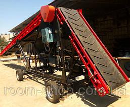 Желобчатые ленточные конвейера (транспортеры) шириной 400 мм. длина 9 м., фото 2