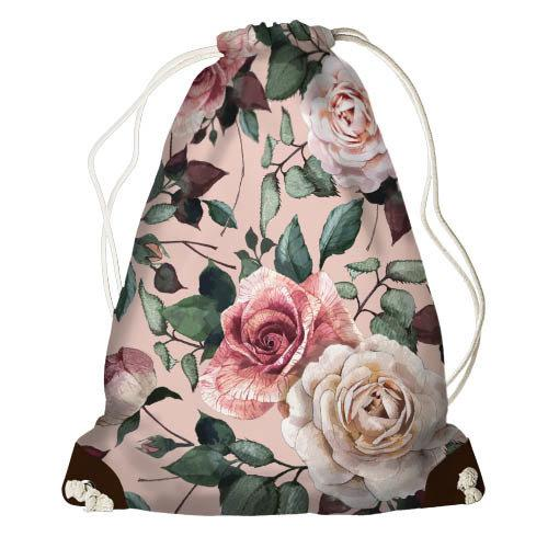 Рюкзак мешок Чайная роза Разные цвета