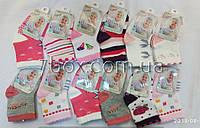 Детские носки для девочек Малыш, 0-6месяцев, хлопковые 2015