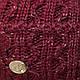 ОПТ Комплект - шапка с ниткой люрекс и шарф (хомут) для девочки, р. 52-54 (5шт/набор), фото 5