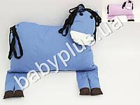 Игрушка-подушка Лошадка, цвета в ассортименте, наполнитель силиконизированное гиппоалергенное волокно