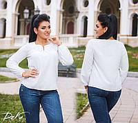 Блузка женская белая 0111