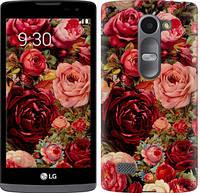 """Чехол на LG Leon H324 Цветущие розы """"2701c-403-13916"""""""