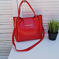 Женская сумка в стиле  Michael Kors №17 сумка  красная